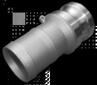 KAMLOK Тип E - Адаптер на шланг 1«- нерж/сталь escape:'html'
