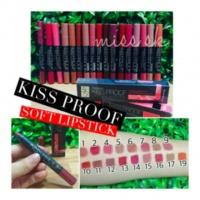 Стойкая матовая помада-карандаш для губ Menow Kiss Proof Soft Lipstick