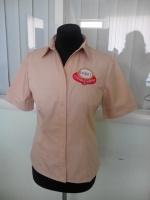 Рубашки для продавцов, официантов, пошив под заказ от 20 шт