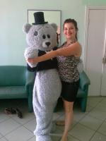 Ростовая кукла мишка Тедди, пошив ростовых кукол на заказ|escape:'html'