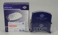 Колодки тормозные дискового тормоза ЗАЗ 1102-1105 передние AT 1090-102BP Код:242027675|escape:'html'