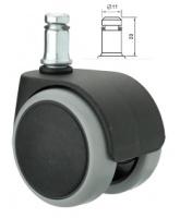 Колесо ролики прорезиненные офисного стула кресла, 5 штук escape:'html'