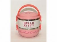 Термос «Hello Kitty» для еды (2 отделения) 1,4л T83, пищевой термос