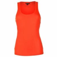 Майка женская Miso из Англии ярко-оранжевого цвета, хлопок, размер -М|escape:'html'