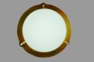 Настенно-потолочный светильник Декора Мираж, 2*60вт, золото, стеклянный матовый плафон, 3-24140-gold escape:'html'