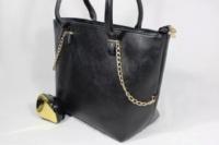 Женская стильная сумка декорированная золотыми украшениями дропшиппинг украина|escape:'html'