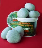 Камни для сауны жадеит шлифованный (крупный), 20 кг escape:'html'