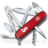 Нож Victorinox Angler Red Код:107401 escape:'html'