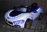 Детский автомобиль Cabrio + пульт управления белый от 3 лет|escape:'html'
