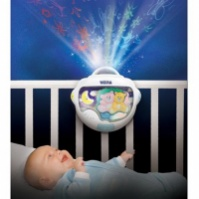 Ночной светильник с проектором «Двойняшки Тедди» Weina (2129)