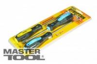 Набор отверток 3 шт (PH1*100, 2*100, SL5*100) MasterTool 40-1504|escape:'html'