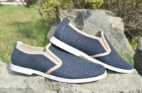 Мужские туфли замшевые летние escape:'html'