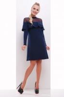 Женское нарядное платье, синее, р.S,M,L