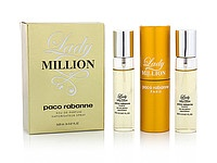 Мини парфюм Paco Rabanne Lady Million (Пако Рабанн Леди Миллион) 3*15 мл