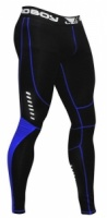 Компрессионные штаны Bad Boy Sphere Compression Leggings Black/blue размер S
