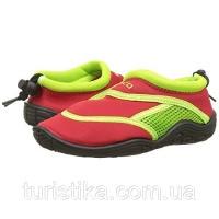 Тапочки для плавания и серфинга детские BECO красный/зелёный 92171 58 34|escape:'html'