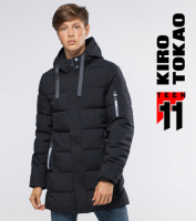 11 Kiro Tokao | Куртка зимняя подростковая 6007-1 черный