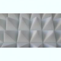 Акустический поролон «Пирамида» 2х1м. 50 мм. Белый.|escape:'html'