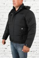 Куртка зимняя мужская - 001 черная|escape:'html'
