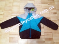 Куртка р. 110 детская для мальчика демисезонная 2410 ТМ Одягайко