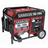 Генератор сварочный SAMSON SQ-190A, ток 210 А, бензин, бак 25 л, ручной старт)