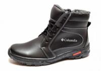 Зимние ботинки с утеплителем и прошитой подошвой Мк-02-К