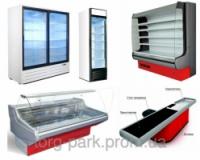 Холодильне та торгове обладнання для магазинів та супермаркетів. Вітрини, шафи, гірки/регали, бонети та ін.|escape:'html'