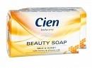 Кусковое мыло Cien Молоко&Мед 150 гр.(сиен, сієн)|escape:'html'