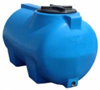 Купить горизонтальные пластиковые бочки для хранения воды на 85 литров. escape:'html'