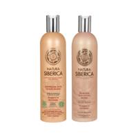 Бальзам + Шампунь для защиты сухих волос «ЗАЩИТА И ПИТАНИЕ» 400 мл + 400 мл Natura Siberica|escape:'html'