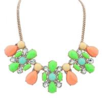 РАСПРОДАЖА! Разноцветное ожерелье из камней