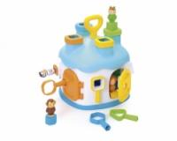 Игрушка для развития Cotoons «Дом» с формами и фигурами, 2 вида, 12мес. +