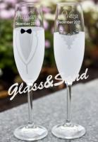 Свадебные бокалы для шампанского (Bohemia)|escape:'html'