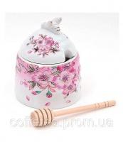 Медовница «Яблоневый цвет» с палочкой для меда