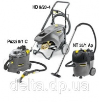Комплект автомоечное оборудование Karcher HD 9/20 + Karcher NT 30/1 + Puzzi 8/1