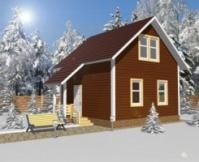 Проект деревянного дома.|escape:'html'