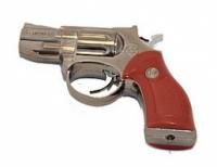 Зажигалка револьвер с лазером