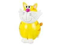 Большая керамическая копилка Желтый кот 38, 5см escape:'html'