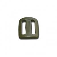 Пряжка двухщелевая 25 мм Woojin (OD/Green)|escape:'html'