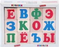 Кубики «Алфавит русский», KOMAROVTOYS escape:'html'