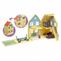 Игровой набор Peppa - ЗАГОРОДНЫЙ ДОМ ПЕППЫ (домик с мебелью, 2 фигурки) от Peppa - под заказ