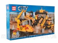 Конструктор «;CITY»; Будівельна техніка 82007 Код:04006212