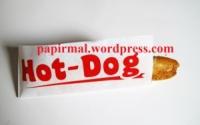 Бумажный пакет хот дог escape:'html'