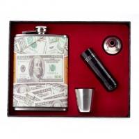 Фляга - подарочный набор «денежная»|escape:'html'