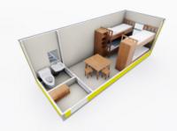 Бытовка строительная Модель ЕВРО 4|escape:'html'