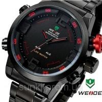 Часы WEIDE Military Watches в стиле милитари с LED подсветкой|escape:'html'