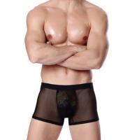 Сексуальные мужские плавки сетка.Мужские трусы с принтом леопард escape:'html'