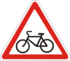 Предупреждающие знаки  1.34(Выезд велосипедистов) escape:'html'