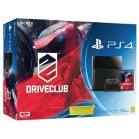 Ігрова приставка Sony PlayStation 4 500 Gb + гра Driveclub Black