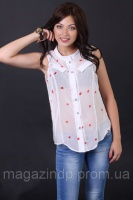 Блуза «Колибри» (лепестки-роз №1) Код:577199685